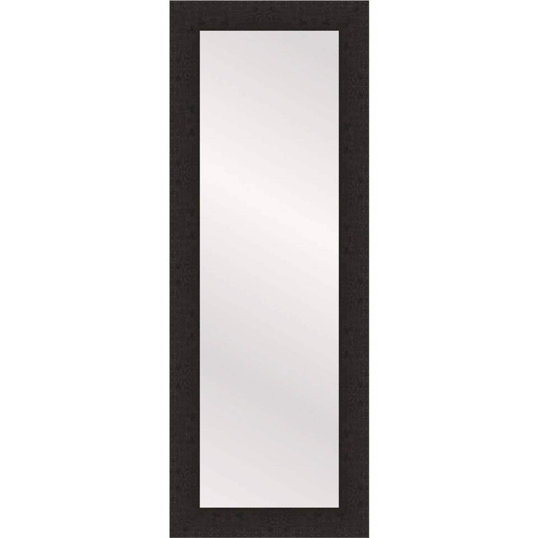 Henzo passpiegel Woodstyle - 35 x 120 cm - donker bruin