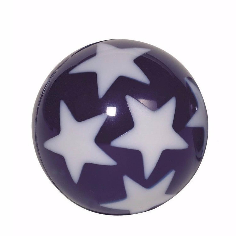 Afbeelding van 10 stuiterballen glow in the dark sterren