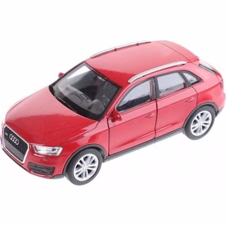 Afbeelding van Speelgoed rode Audi Q3 auto 12 cm - speelgoed auto schaalmodel