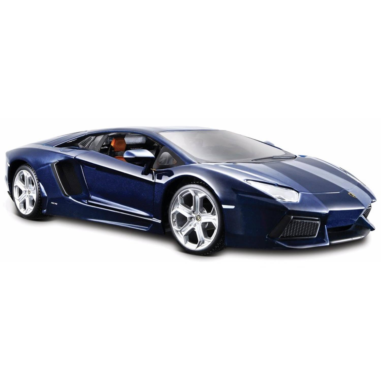 Modelauto lamborghini aventador 1:24 speelgoed auto schaalmodel