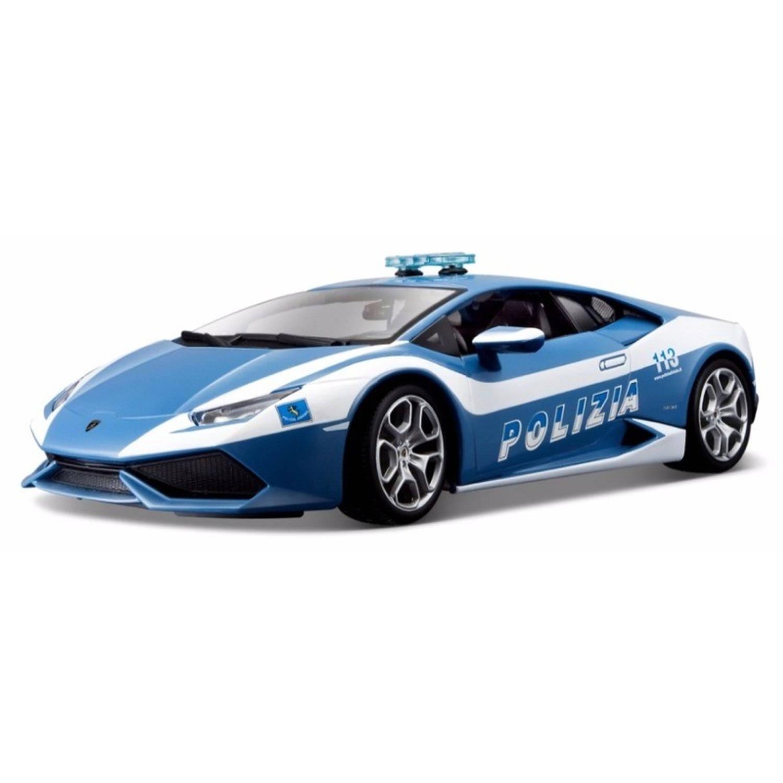 Modelauto lamborghini huracan politie 1:32 speelgoed auto schaalmodel