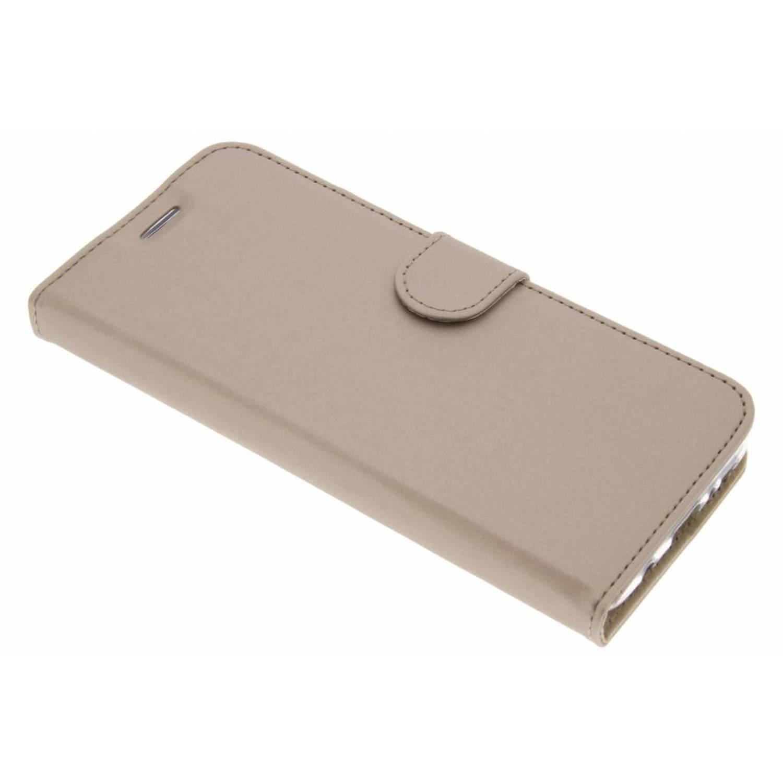Gouden Wallet TPU Booklet voor de Samsung Galaxy S8 Plus