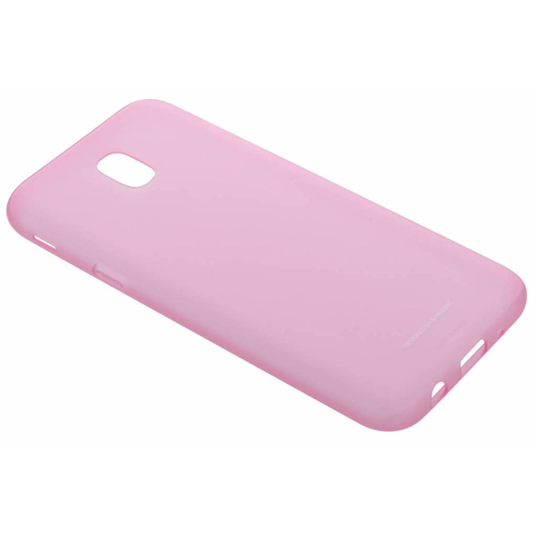 Roze jelly cover voor de galaxy j5 (2017)