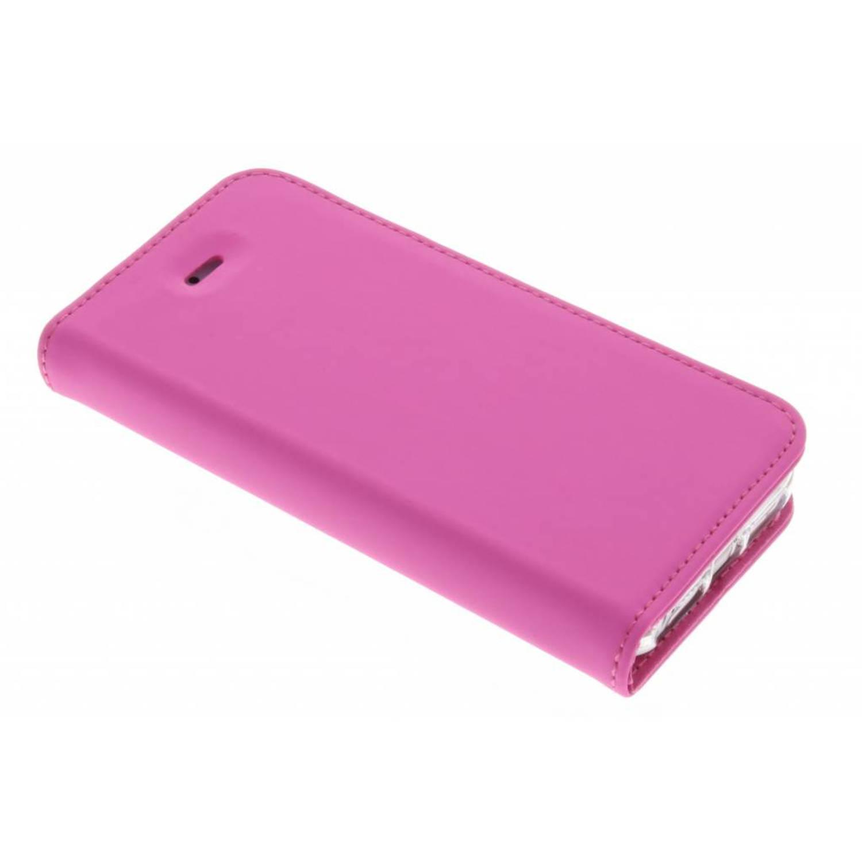 Afbeelding van Booklet voor de iPhone 5 / 5s / SE - Pink