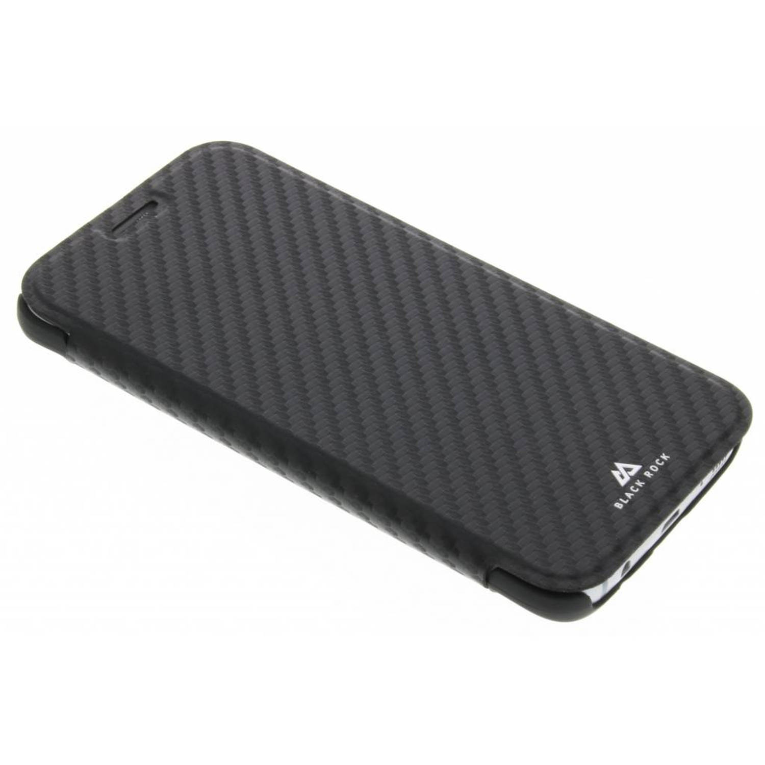 Zwarte Flex Carbon Booklet Case voor de Samsung Galaxy S7