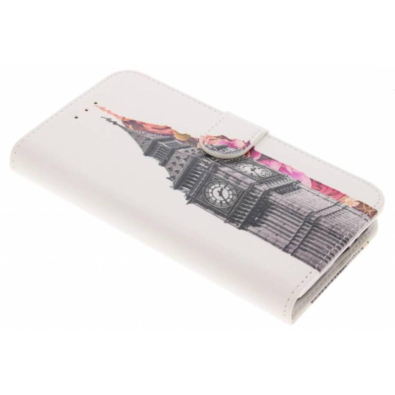 Tour Eiffel Design Booktype Case Tpu Pour Samsung Galaxy A3 (2017) SiUYWz
