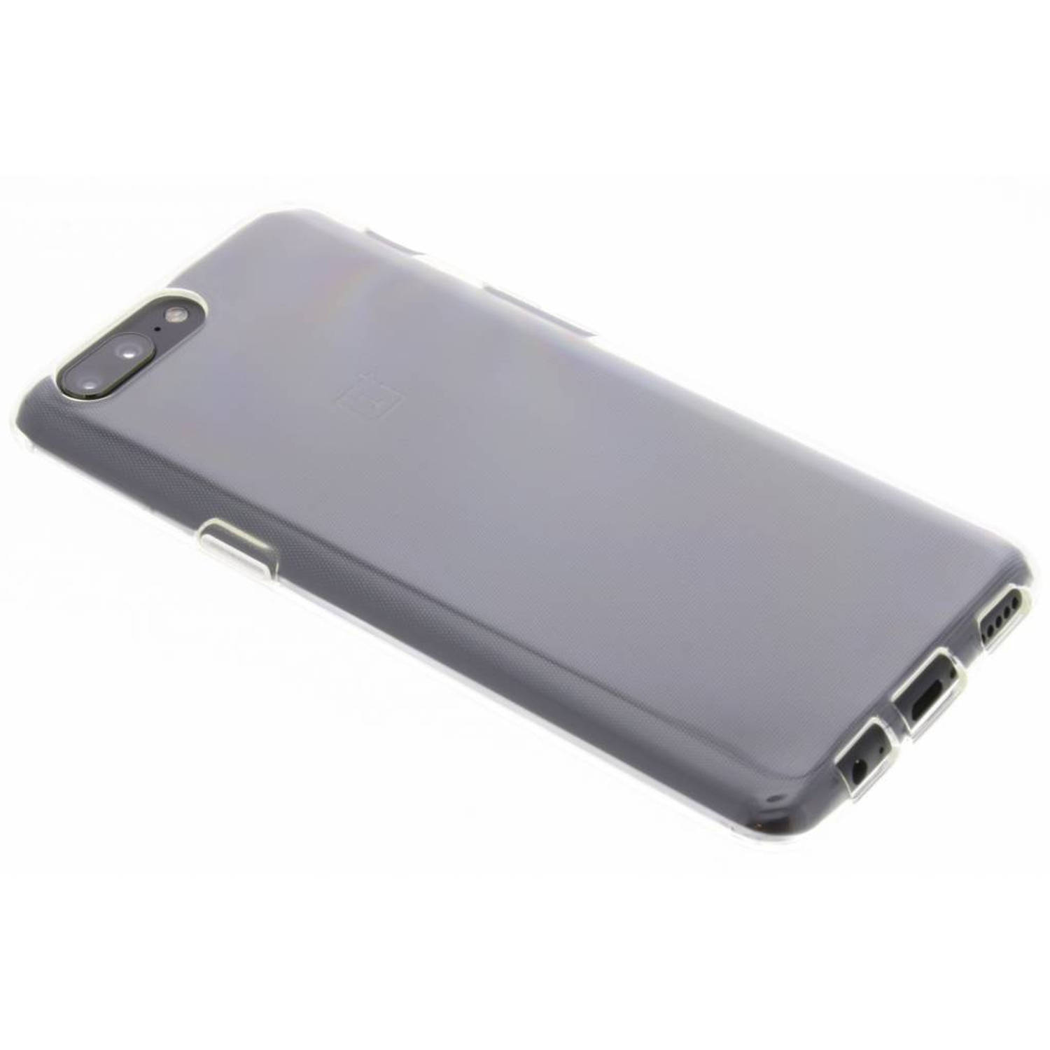 Transparante TPU Clear Cover voor de OnePlus 5