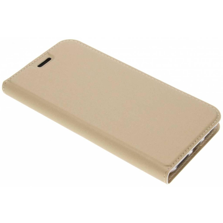 Gouden Slim TPU Booklet voor de iPhone X