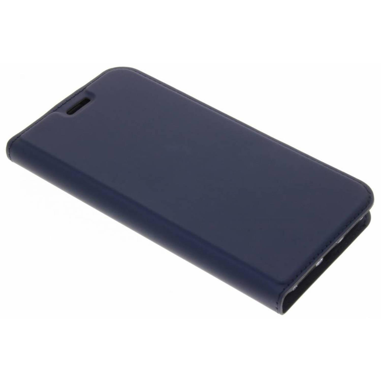 Blauwe Slim TPU Booklet voor de iPhone Xs / X