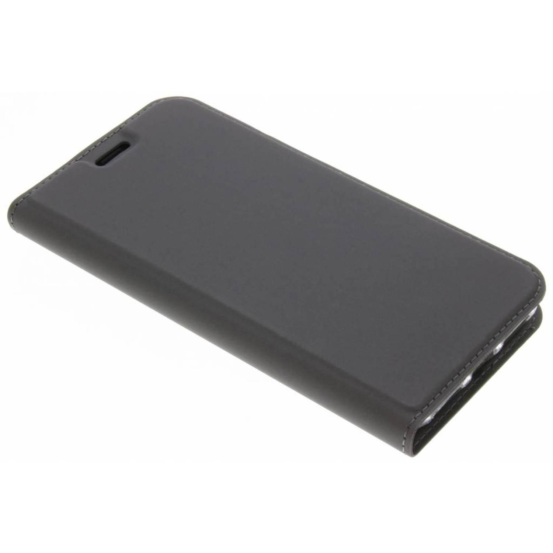 Grijze Slim TPU Booklet voor de iPhone Xs / X