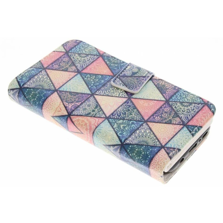 Triangles Conception Portefeuille Tpu Pour Samsung Galaxy S8 aFFLzAvCEi