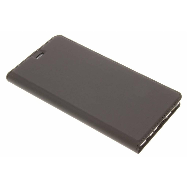Grijze Slim TPU Booklet voor de Huawei P9