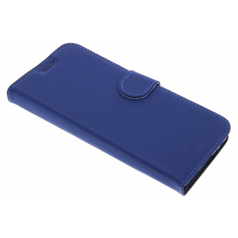 Afbeelding van Blauwe Wallet TPU Booklet voor de Samsung Galaxy S8 Plus