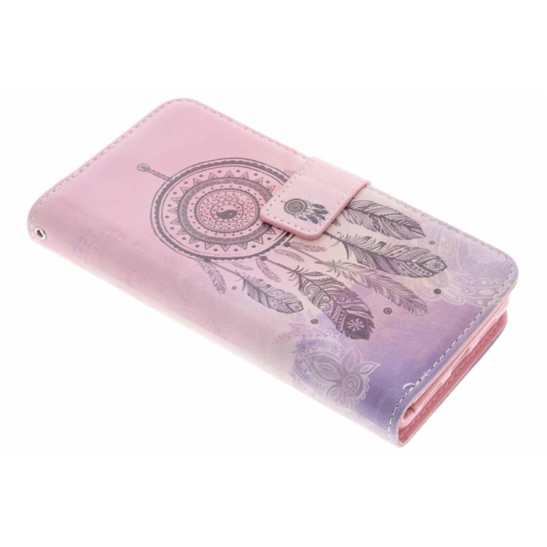 Dromenvanger design tpu portemonnee voor de huawei p9 lite