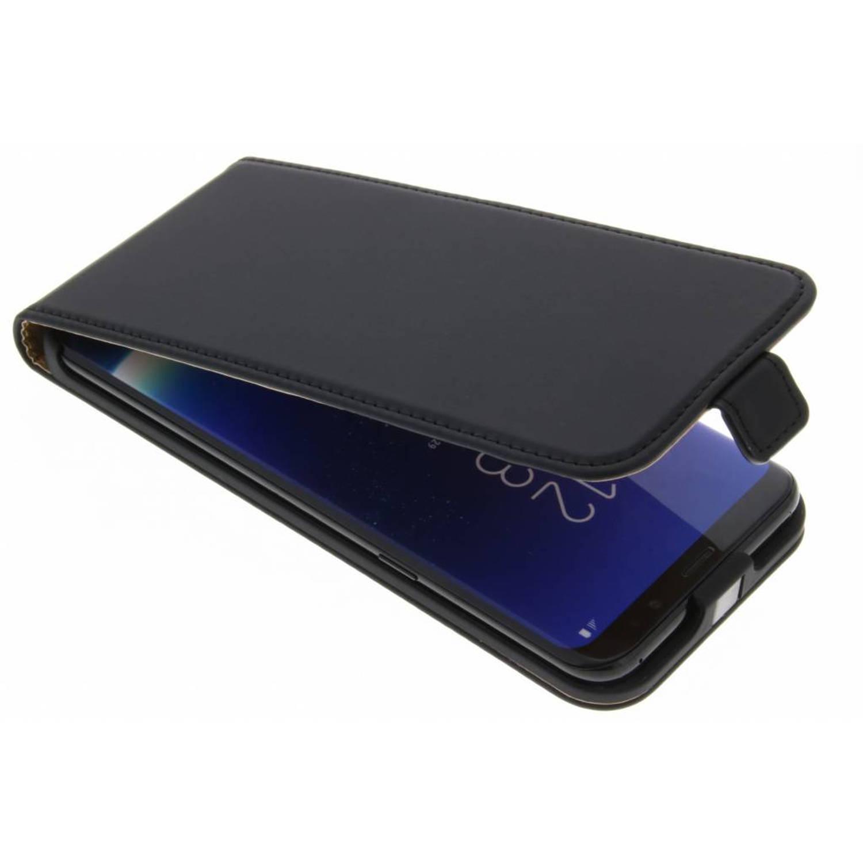 Zwarte Luxe Flipcase voor de Samsung Galaxy S8 Plus