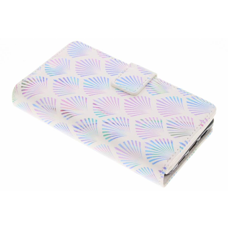 Waaier design tpu portemonnee voor de huawei p8 lite