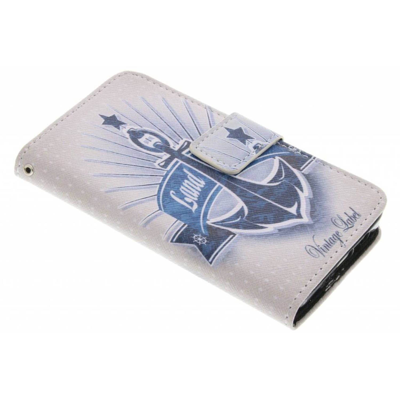 Anker design TPU booktype hoes voor de Samsung Galaxy A3