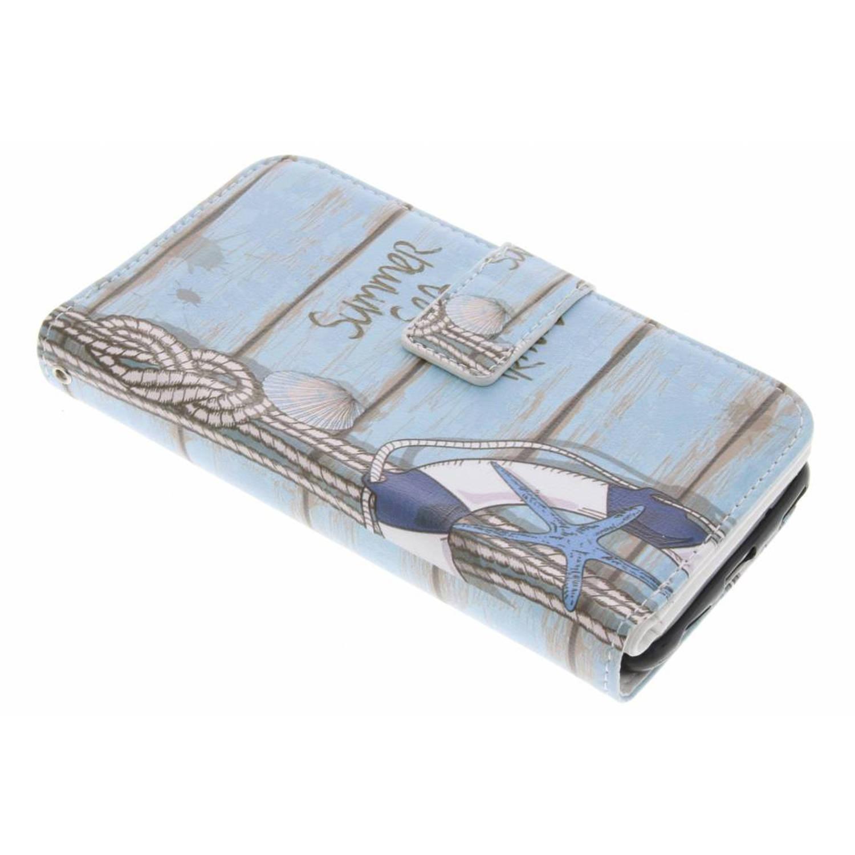 Zee design tpu portemonnee voor de huawei p10