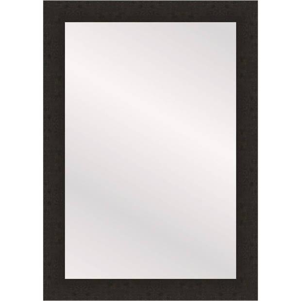 Henzo spiegel Woodstyle - 60 x 90 cm - donker bruin