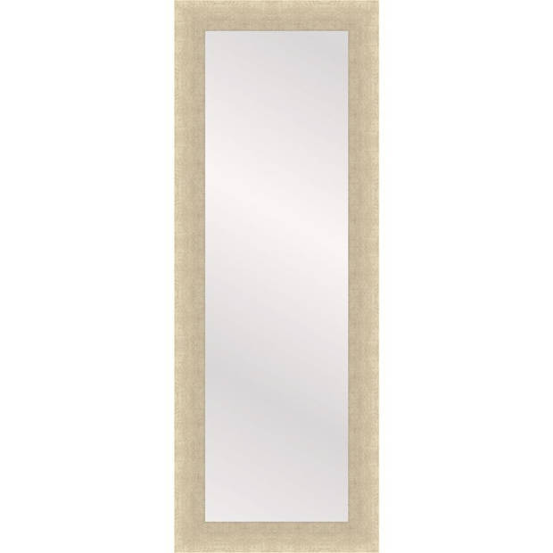 Henzo passpiegel Woodstyle - 35 x 120 cm - creme