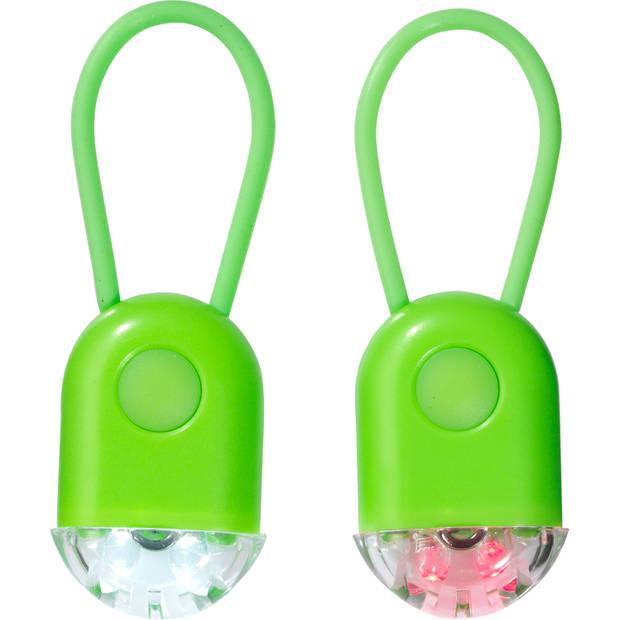 Led Fietslampjes Neon Groen