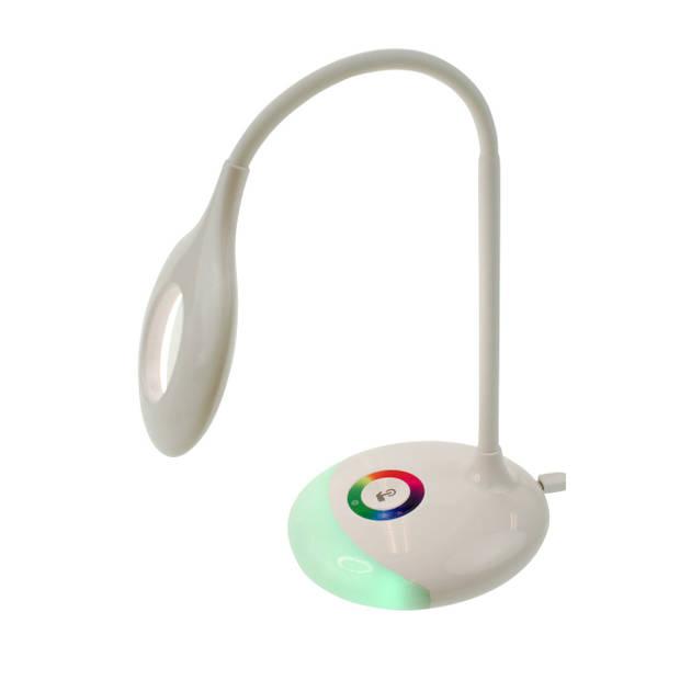 Moodlight flexibele led bureaulamp met rgb verlichting