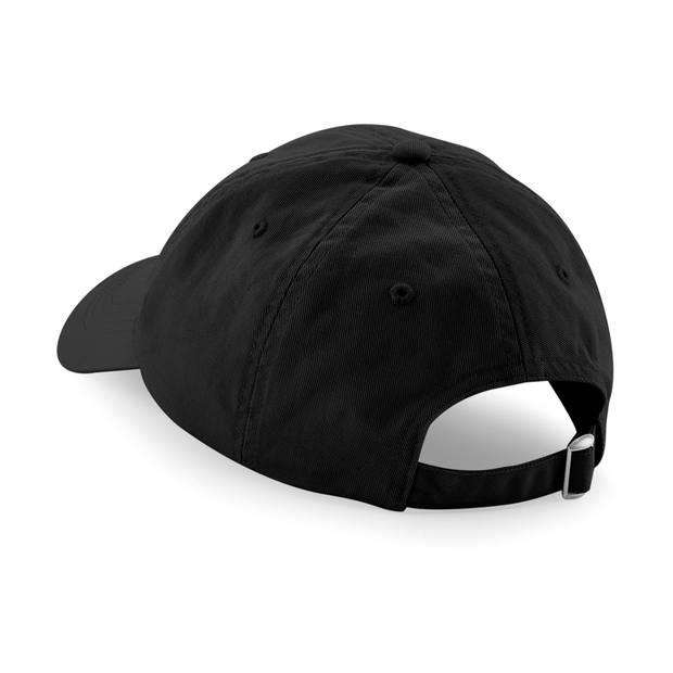 Beechfield low profile 6 panel dad cap zwart