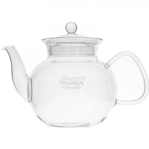 Pickwick theepot - glas - 1,2 l