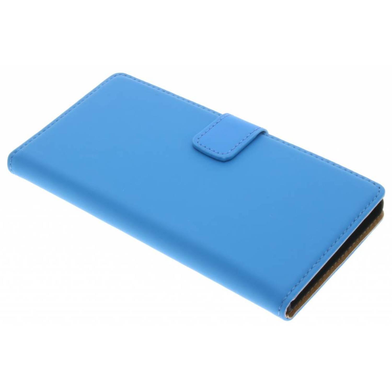 Blauwe luxe book case voor de sony xperia xz / xzs