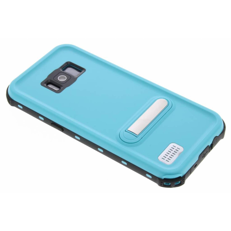 Blauwe Dot Waterproof Case voor de Samsung Galaxy S8