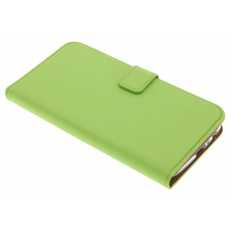 Motorola Moto G5 Plus hoesje Groen - Luxe TPU Book Case