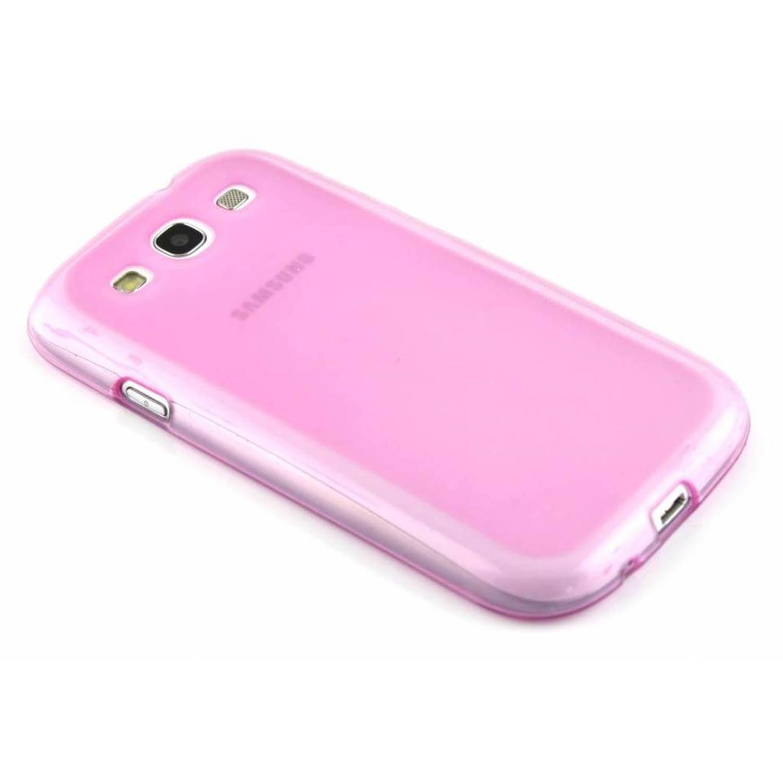 tui Rigide En Silicone Simple Pour Samsung Galaxy S3 / Neo s8SbFskGC