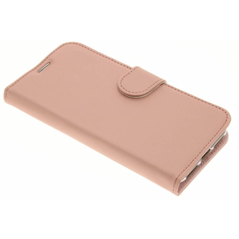 Rosé Gouden Wallet TPU Booklet voor de iPhone X