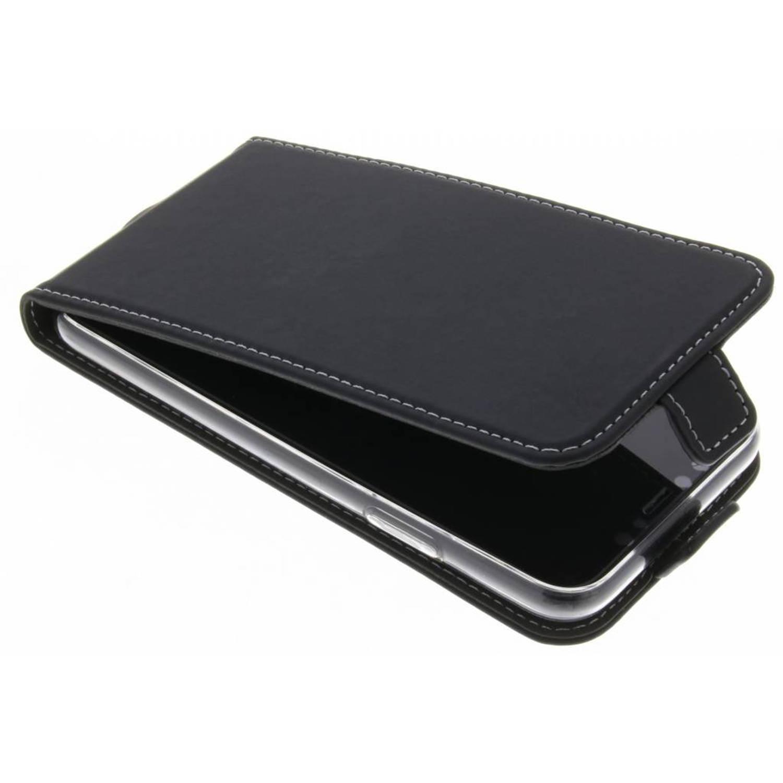 Zwarte TPU Flipcase voor de iPhone Xs / X