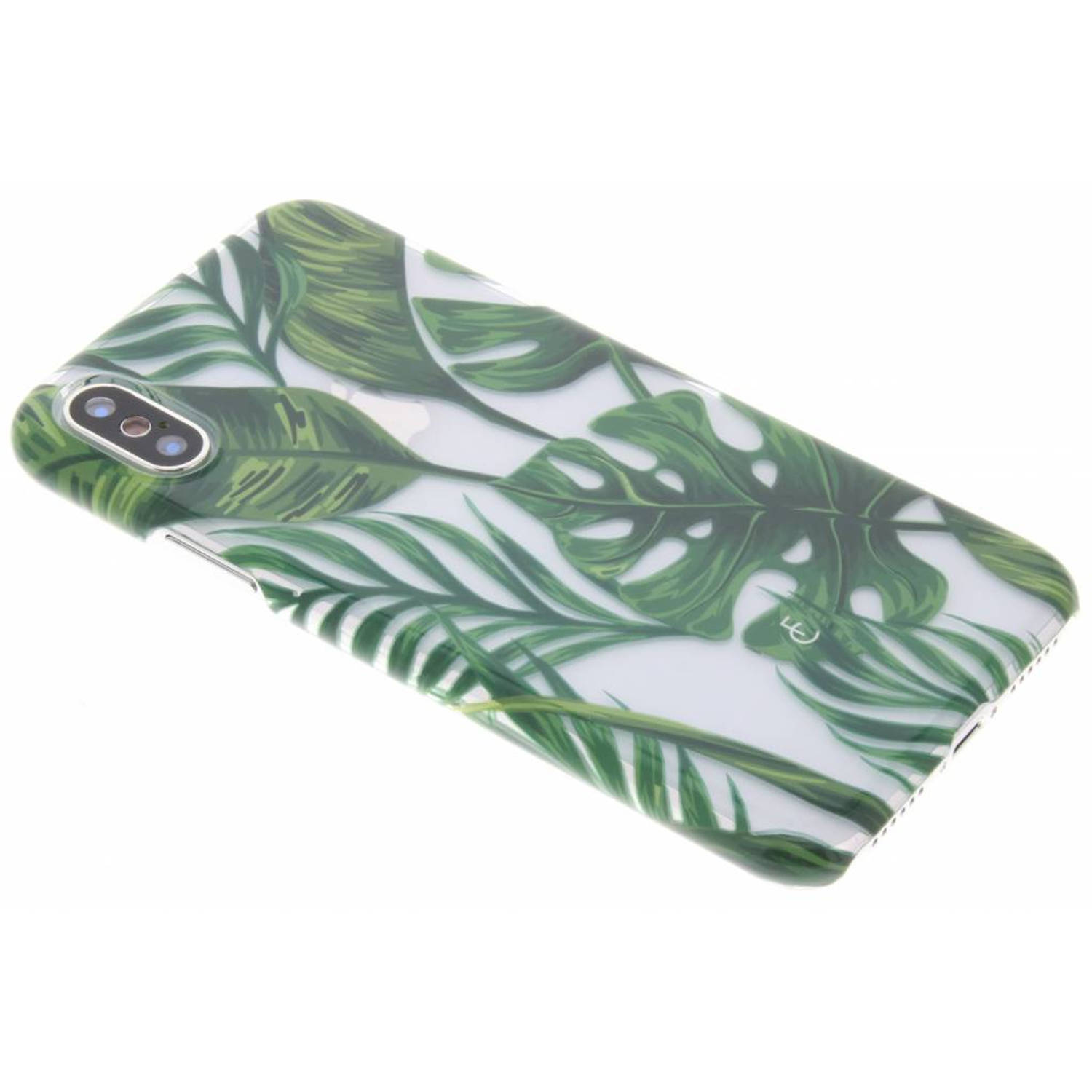 Monstera Leafs Hardcase voor de iPhone Xs / X