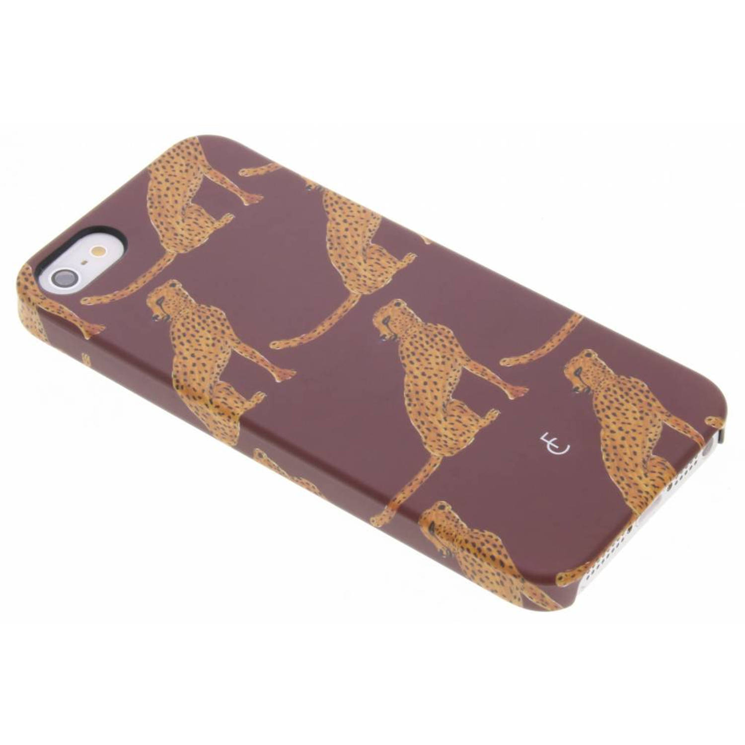 Cheetah hardcase voor de iphone 5 / 5s / se