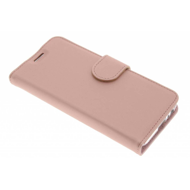 Wallet TPU Booklet voor de Samsung Galaxy A3 (2017) - Rosé Goud