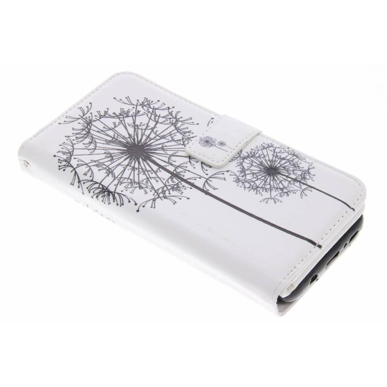 Dandelion design tpu portemonnee voor de samsung galaxy s8 plus