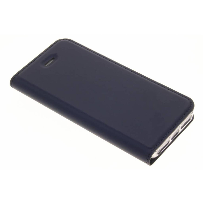 Blauwe Slim TPU Booklet voor de iPhone 5 / 5s / SE