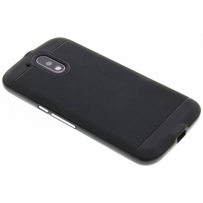Zwarte TPU Protect case voor de Motorola Moto G4 (Plus)