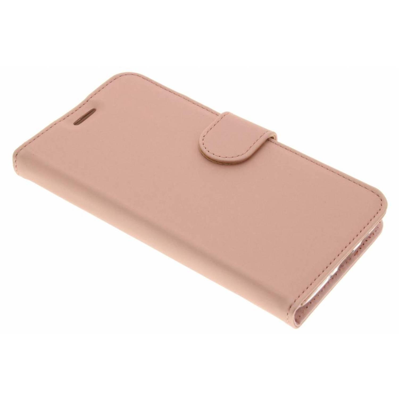 Wallet TPU Booklet voor de Samsung Galaxy J5 (2016) - Rose Gold