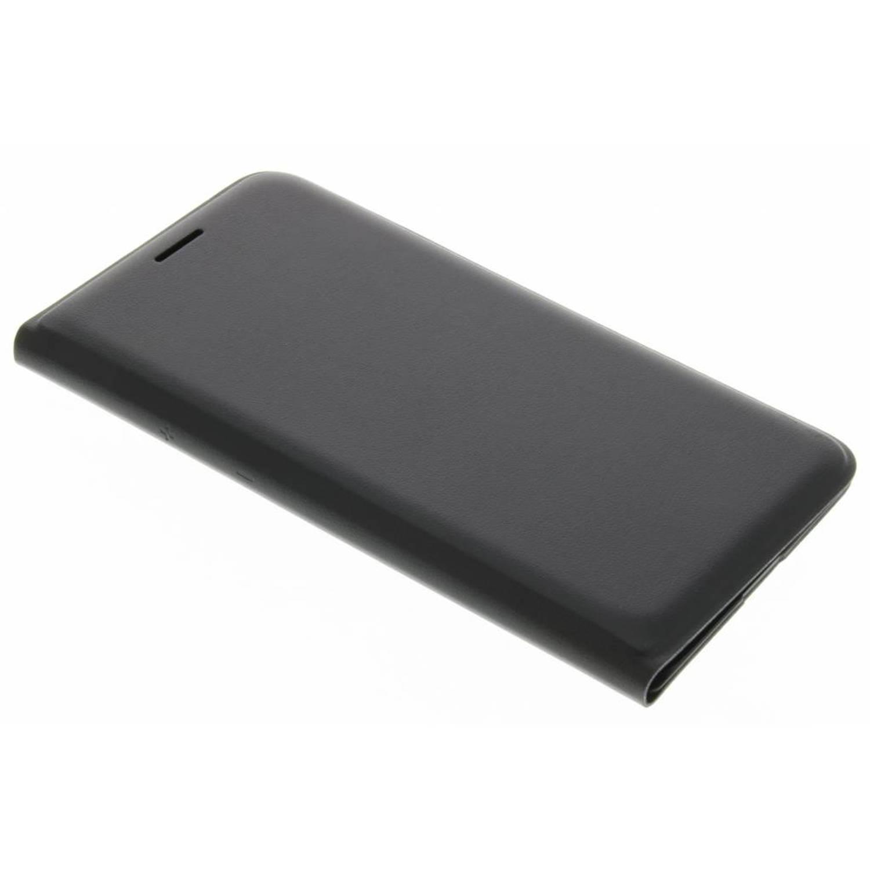 originele Flip Wallet voor de Galaxy J1 (2016) - Zwart