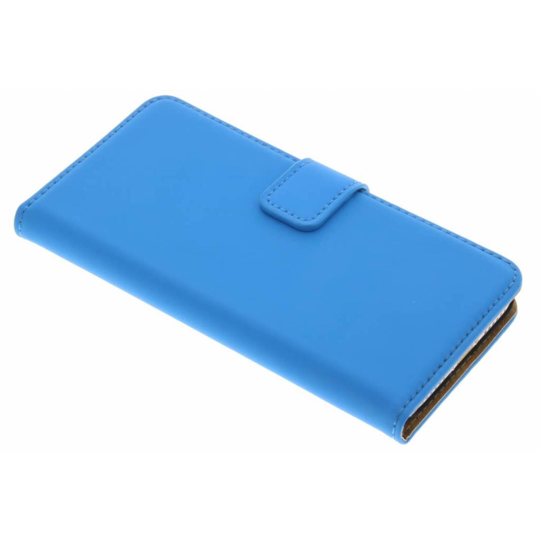 iPhone 7 hoesje Blauw - Luxe Book Case
