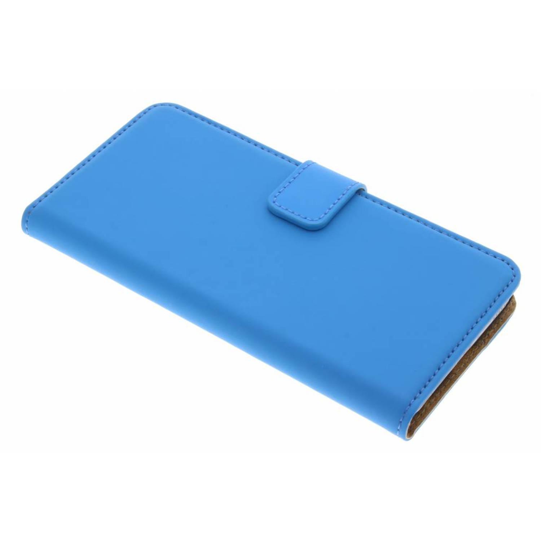 Blauwe luxe book case voor de huawei p10
