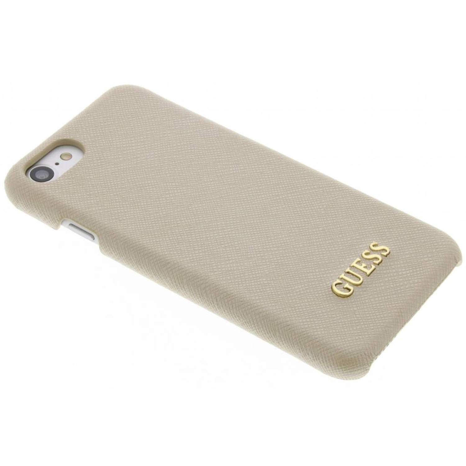 Saffiano Collection Hard Case voor de iPhone 7 Beige