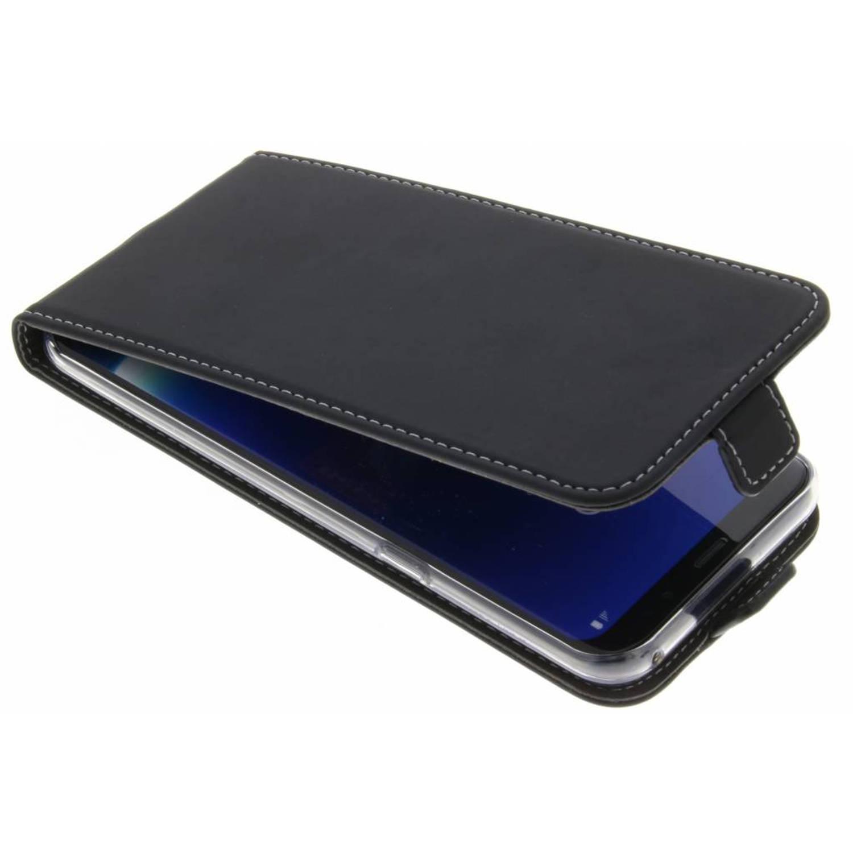 Zwarte TPU Flipcase voor de Samsung Galaxy S8 Plus