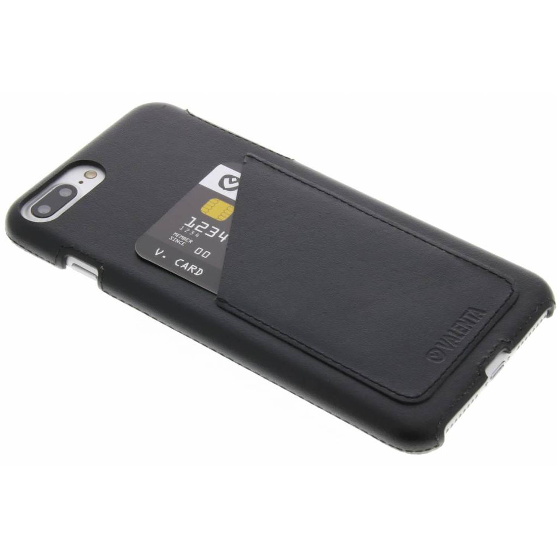 Back Cover Classic Luxe voor de iPhone 8 Plus / 7 Plus - Zwart