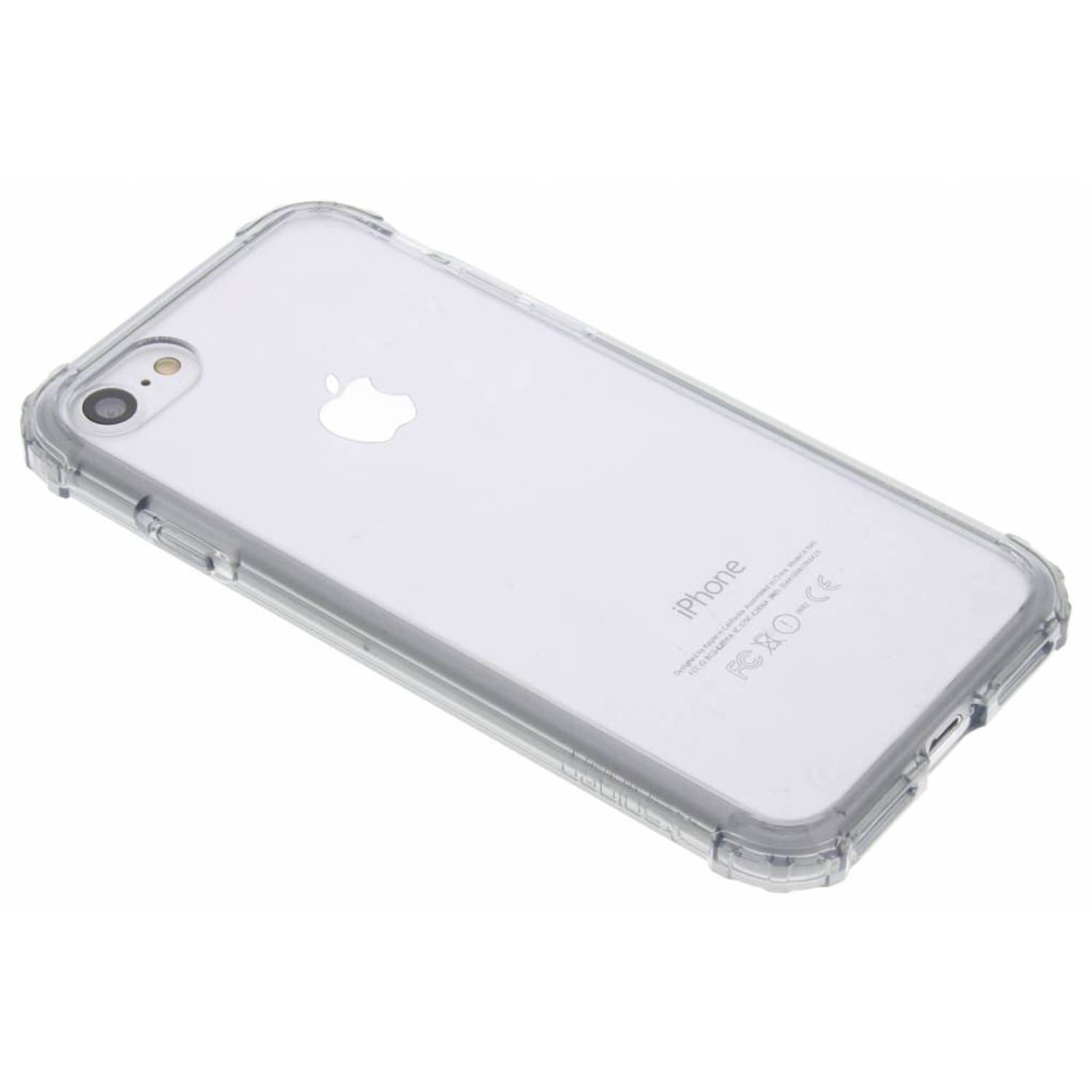 Grijze Crystal Shell Case voor de iPhone 8 / 7