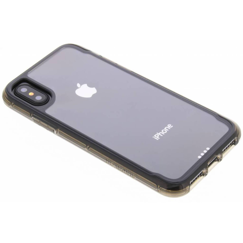 Zwarte Survivor Clear Case voor de iPhone Xs / X