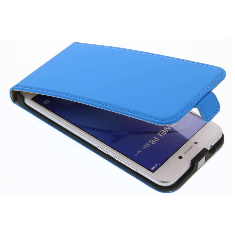 Blauwe Luxe Flipcase voor de Huawei P8 Lite (2017)